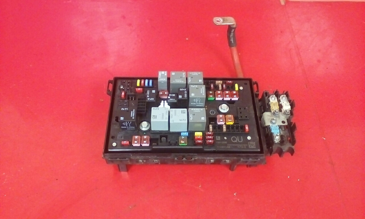 Vauxhall Astra J Front Bcm Uec Electric Control Qu Fuse Box 2009 Where Is 2016