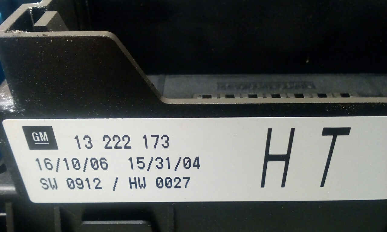 Vauxhall Astra Mk5 H Zafira B Rear Electric Control Rec Fuse Box Ht 06 Location 2004 2010