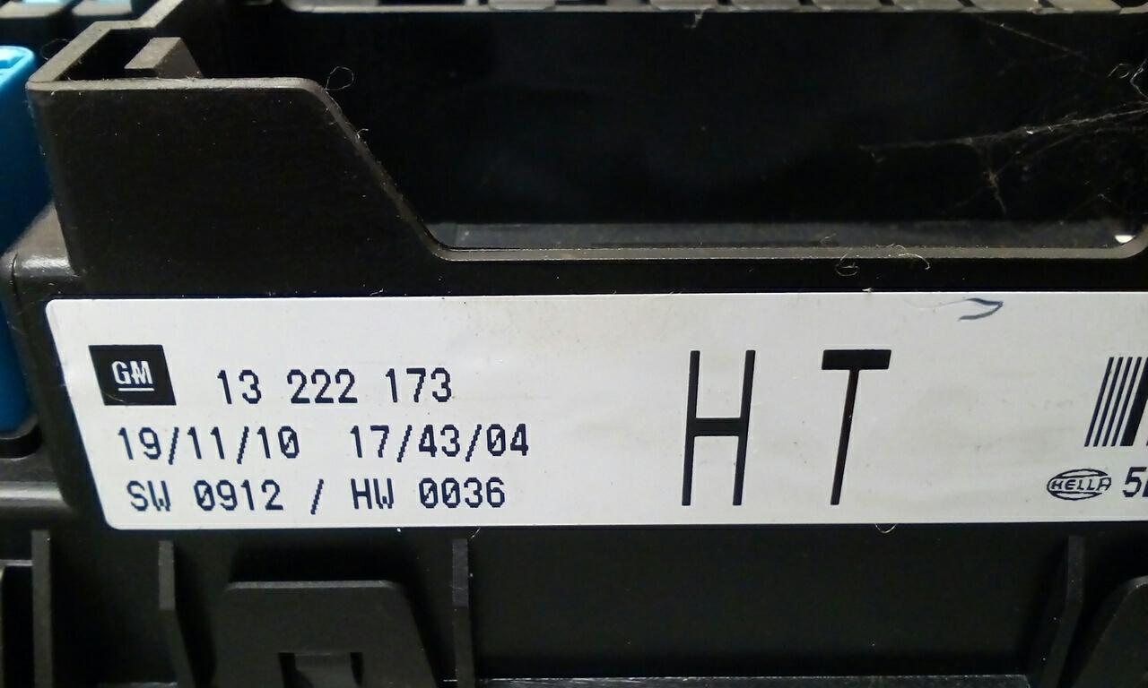 Vauxhall Astra Mk5 H Zafira B Rear Electric Control Rec Fuse Box 06 Location Ht 2004 2011