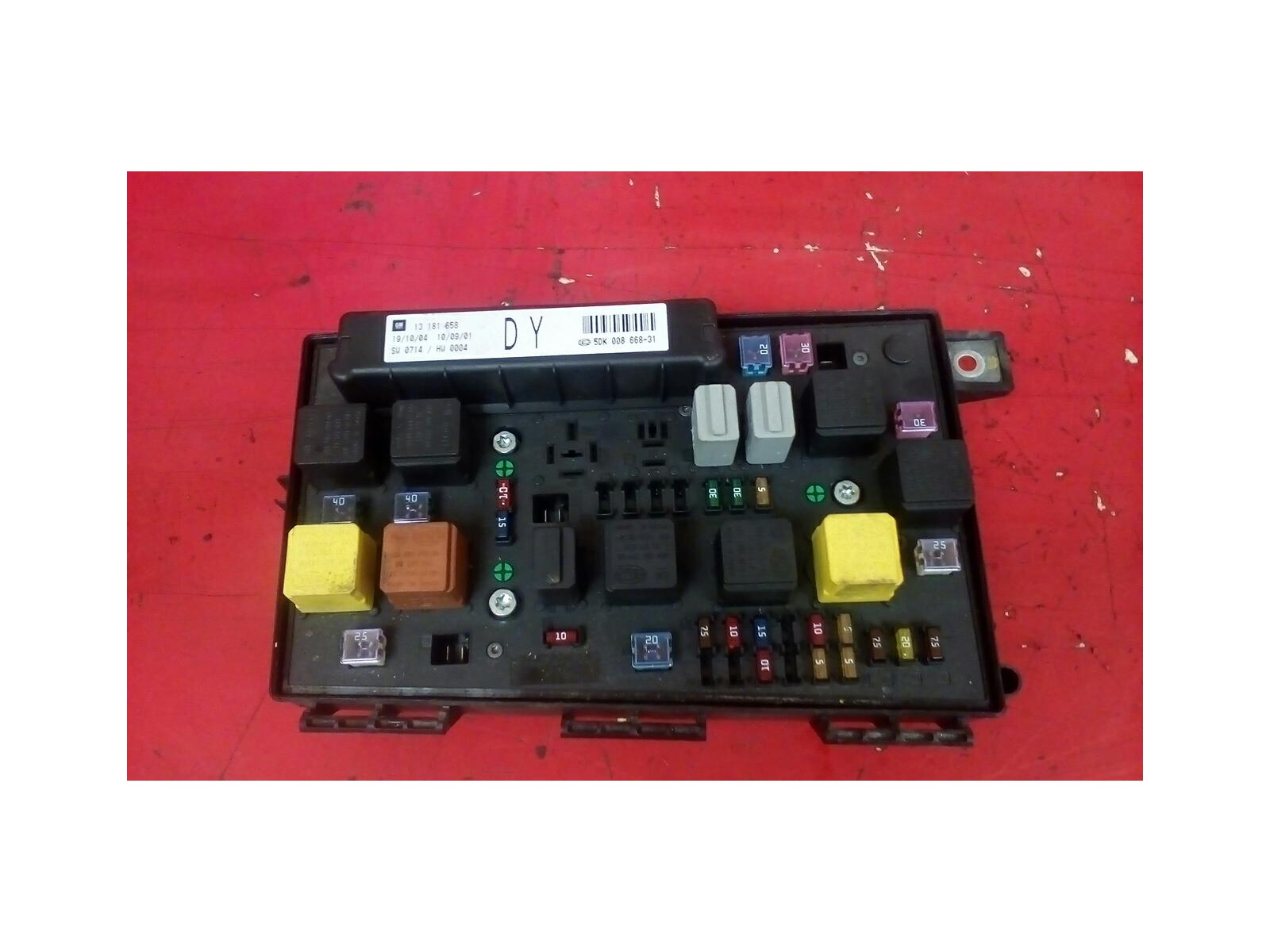 vauxhall astra h mk5 front bcm electric control dy uec fuse Vauxhall Astra Review
