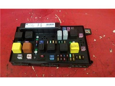 vauxhall astra h mk5 front bcm electric control fg uec fuse box 2004-2010