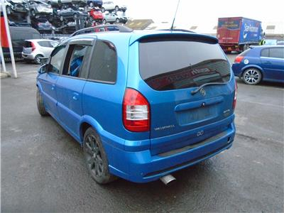 2004 Vauxhall Zafira Gsi Turbo Petrol Mpv Multi Purpose Vehicle