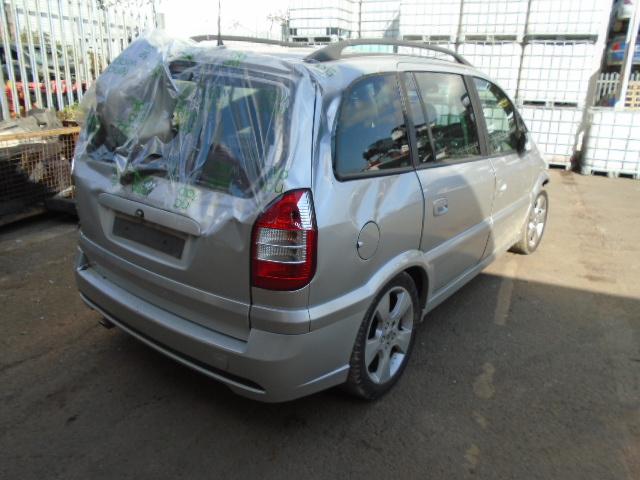 2005 Vauxhall Zafira Sri Petrol Mpv Multi Purpose Vehicle 5 Doors