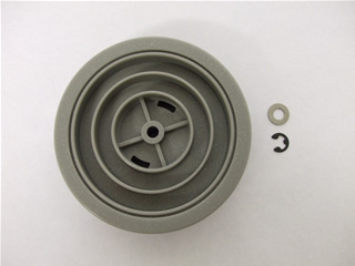 Wheel | Rear wheel grey | Part No:0053601