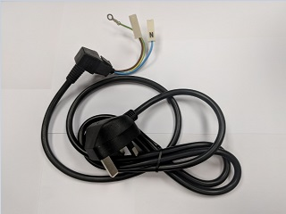 Mains Lead | AC Cord With Plug | Part No:Z900C6S20YT