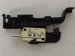 Microswitch | Door micro switch & lever | Part No:C00113854
