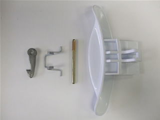 Handle | Door latch assembly | Part No:C00116580