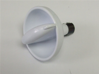 Knob | Control knob dryer white | Part No:C00199967