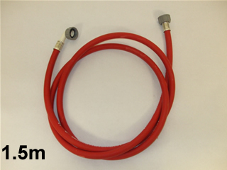 Hose | Fill pipe inlet 1.5 meter red | Part No:Fil01