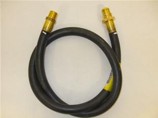 "Hose | Gas pipe connector 1/2"" 4FT NG bayonet fixing | Part No:HNSP5927"