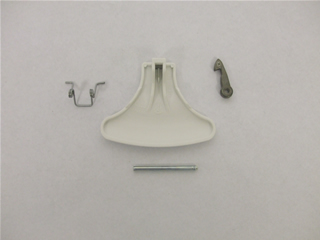 Handle | Door handle kit White | Part No:C00096865
