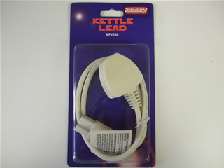Power Lead | Kettle lead straight 3 point | Part No:BP1228