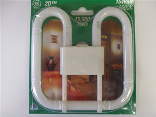 Lamp | 4 Pin 2D 16Watt | Part No:16W835