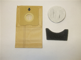 Bags | Dust Bag Pk10 & Filter Set | Part No:DVLDD2408G120010