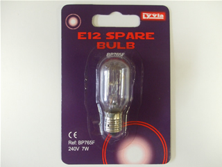 Bulb | E12 240v 7w night light lamps | Part No:BP765F