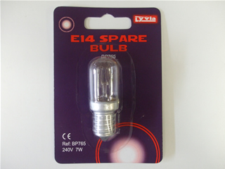 Bulb | E14 240v 7w night light lamps | Part No:BP765