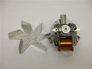 Fan Motor | Motor and Fan Blade | Part No:083083400
