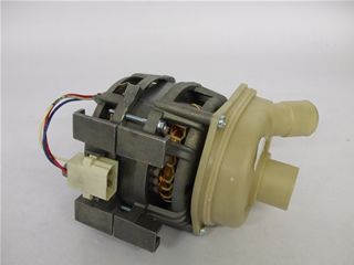 Motor | Recirculation Wash Pump | Part No:96X0186
