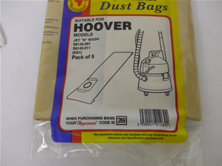 Bags | Dust bag Pk5 | Part No:SDB269