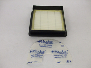 Filter | Filter set  microban | Part No:DDFILCYL5