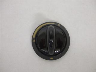 Knob | Hob control knob black | Part No:3113864072