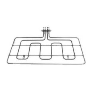 Element | Grill Element 2500W, Height: 370 mm, Width 615 mm, Bracket : 100 mm, Tags: 25 - 55 mm | Part No:262900069