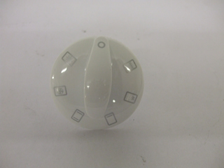 Knob | Selector knob white | Part No:14-HY-1808