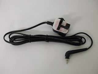 Black Plug & Cable Assembly | UK Cable and Plug | Part No:CBL9229