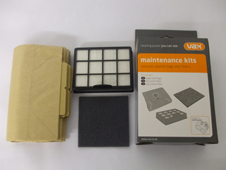 Kit | Maintenance Kit. Dust bags, Pre and Post Motor Filters | Part No:1912650600