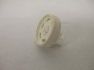 Wheel | Lower basket wheel assembly White/Grey | Part No:8996464034868