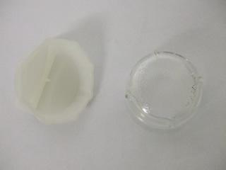 Lamp lens | Glass Lamp Lens Threaded | Part No:00647309