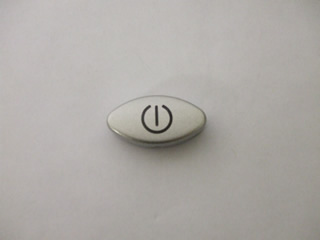 Button | Silver On/Off Button | Part No:C00098035
