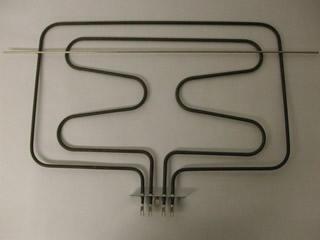 Element | Grill Element 3050W (1050w 2000w) 335mm L, 484mm W, 55mm Tags, 98 mm Bracket, 621mm Cross bar | Part No:C00141175