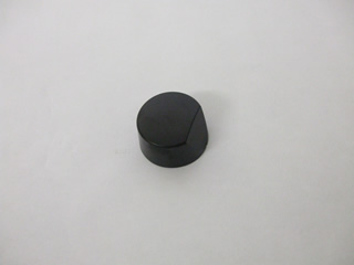 Knob | Black Hob Control Knob | Part No:538281