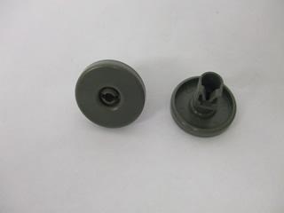 Wheel | Lower basket wheel dark gray | Part No:50278102004