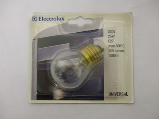 Oven Lamp | 25W E27 338910 Oven Lamp | Part No:50294695007