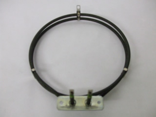 Fan Oven Element | 2000W, 190mm Width, 215mm Length, 25mm Tags, 70mm Bracket | Part No:C00311196