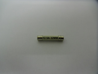 Fuse | 12.5A 32MM Fuse | Part No:Fuse12.532