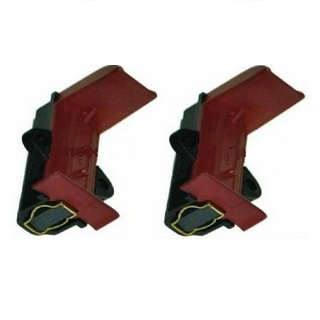 Motor Carbon Brush | L13MF7 Black and Red, Pair | Part No:371201205
