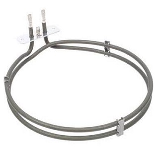 Fan Oven Element | Non Genuine 2000W, 2 Turns, L 220mm, W 200mm, Bracket 70mm, Tags 30mm | Part No:ELE9322