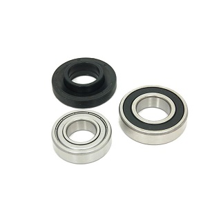 30mm Bearing Kit with Seal | Washing Machine Replacement Bearing and Seal Kit. 6206zz, 6205zz. | Part No:C00254590