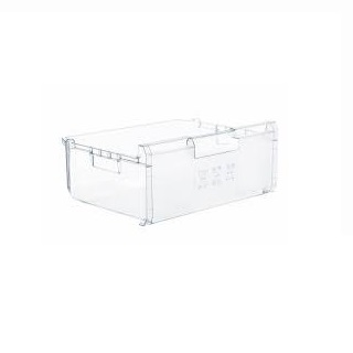 Drawer | Frozen Food Container size W x 465MM, D x 370MM Height: Front 185MM x Back 145MM | Part No:00358824