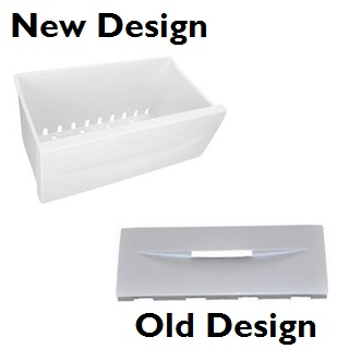 Flap | The Freezer Flap Is Now Obsolete. It Now Comes Complete With The Lower Freezer Drawer. Once You Recieve Your Part, You Will Then Have To Remove The Flap & Attach It To The Drawer You Require | Part No:C00142825