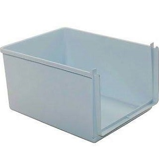Drawer | FRIDGE CRISPER BOX WXH 230X171X307 PW COMBI L55 - Due to the amount of errors ordering shelves and drawers, we would recommend you get in touch with the full model number and serial number to make sure you are ordering the correct part | Part No:C00142261