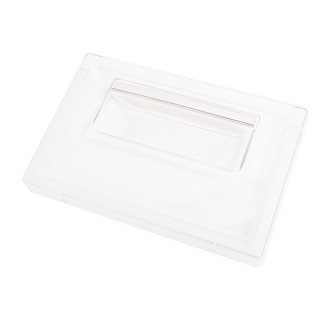 Drawer Panel | Salad Panel crisper box 240x159x28 transparent - Due to the amount of errors ordering shelves and drawers, we would recommend you get in touch with the full model number and serial number to make sure you are ordering the correct part | Part No:C00285946