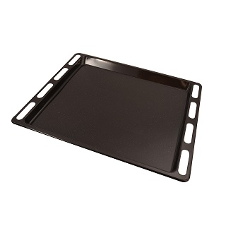 Grill Pan / Dip Tray   ENAMELLED DRIP TRAY 447mm x 360mm x 20mm DEEP   Part No:C00137834