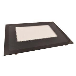 Oven Door   MAIN OVEN DOOR BLACK   Part No:C00260179