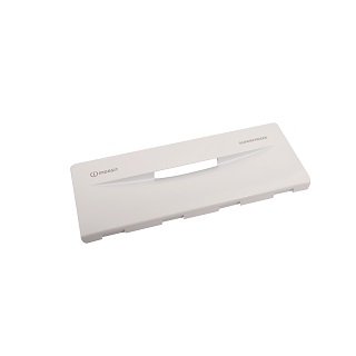 Drawer Front | FREEZER FLAP (414x162x25) - Due to the amount of errors ordering shelves and drawers, we would recommend you get in touch with the full model number and serial number to make sure you are ordering the correct part | Part No:C00111337