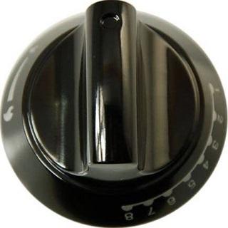 Knob | Top Oven Control Knob Black | Part No:C00194323