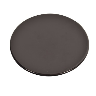 Burner Cap - LARGE | BURNER CAP LARGE 100MM DIAMETER. GLOSSY FLAT RAPID | Part No:C00052931